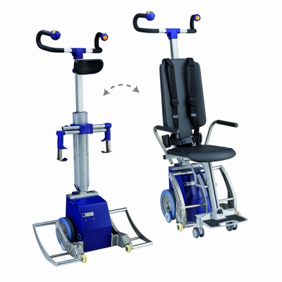 Powered Robot Wheelchair Stairclimber | S-Max Sella Vario